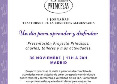 I Jornadas por los TCA de Proyecto Princesas