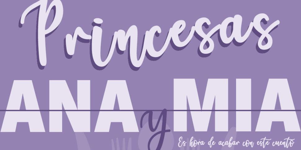 """Proyecto Princesas nace a raíz de descubrir en la red un """"submundo"""" tenebroso de """"Princesas Ana y Mia"""", adolescentes que escondían bajo esos inocentes nombres enfermedades como la Anorexia y Bulimia."""