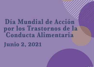 2 Junio: Día Internacional de Acción por los TCA